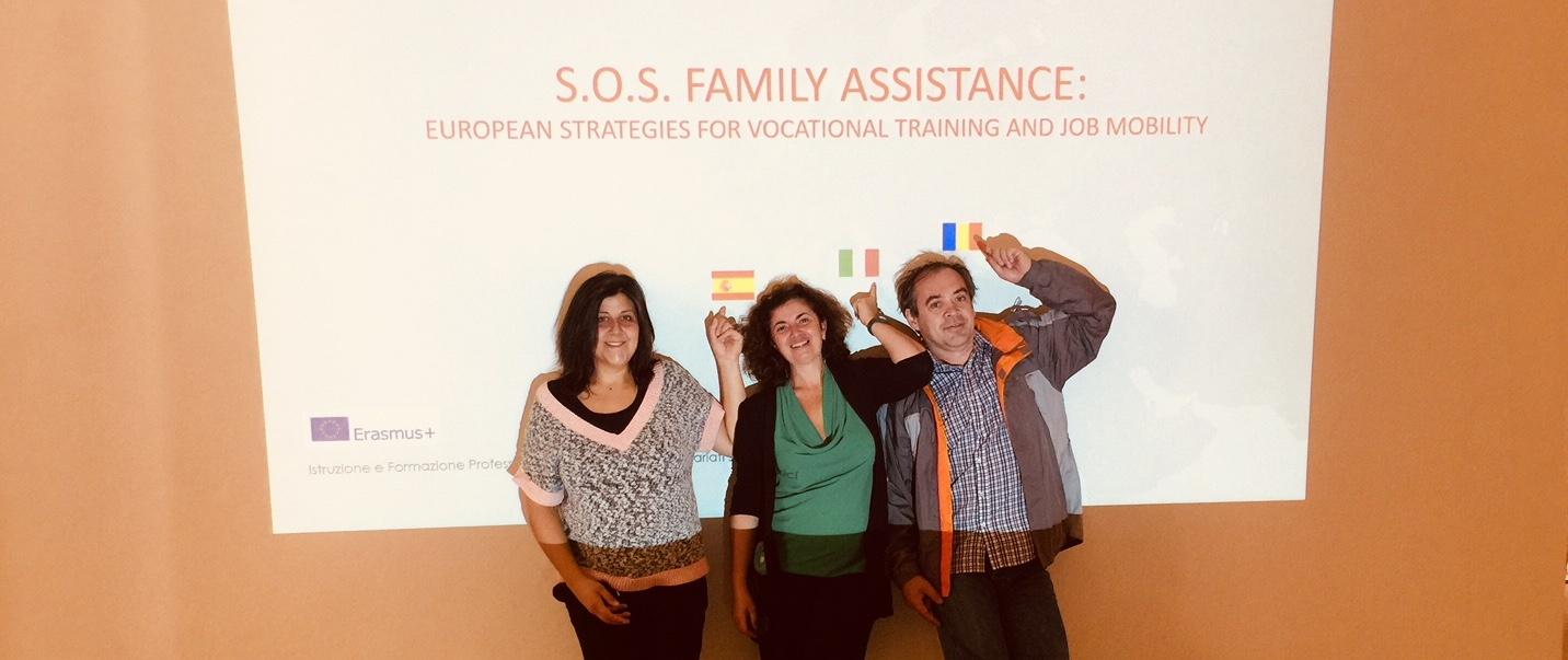 SOS Family Assistance: Europa para la inserción